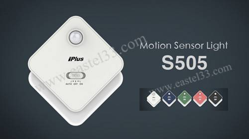 S505 wireless night light sensor light