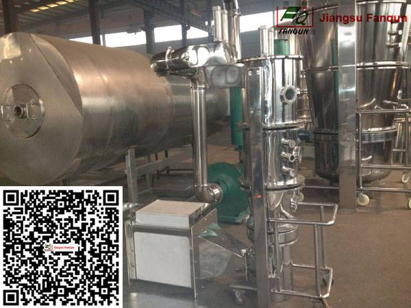 Jiangsu Fanqun Fluid bed granulating dryer