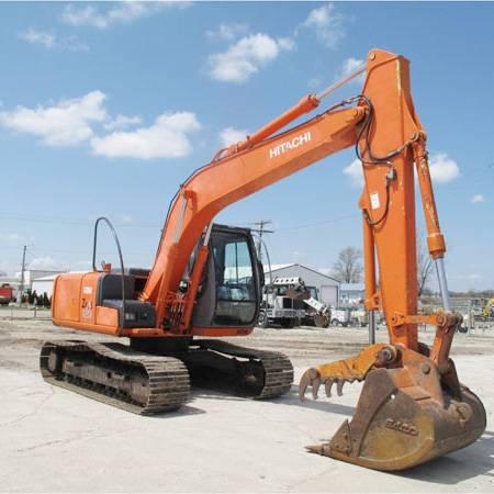 Used Hitachi ZX120 Crawler Excavator