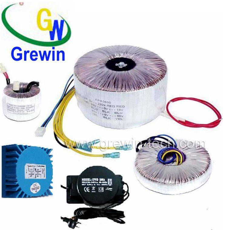 100VA toroidal transformer with high quality silicon sheets