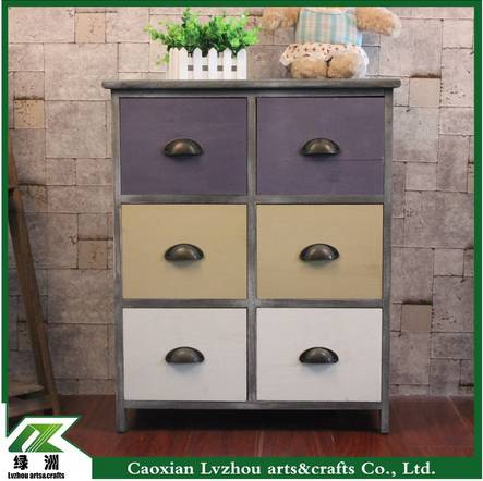 High quality wood decorative storage cabinet for living room