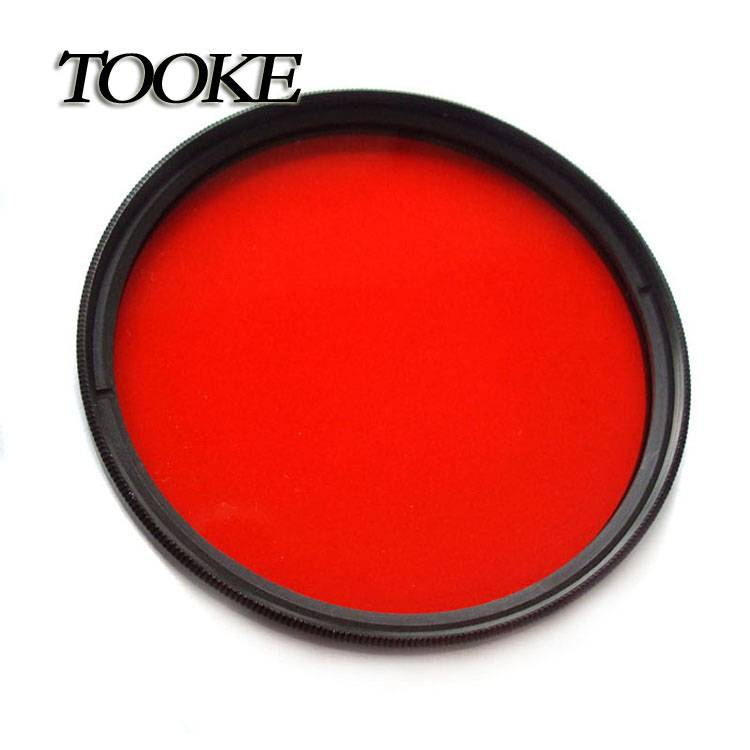 Tooke 67mm M67 Full Color Red Filter DIVE for Camera Lens Conversion with thread mount