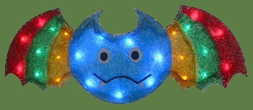 EVA&LED Halloween decorative lights,Bat