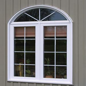 Upvc sliding window for construction