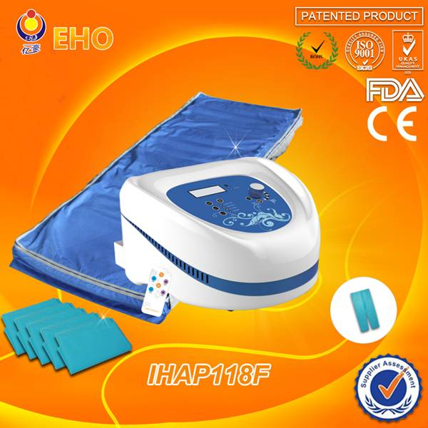 2015 Best selling products in america ! carbon fiber material pressotherapy infrared massage bed