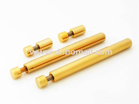 Desktop standoffs, brass 8mm