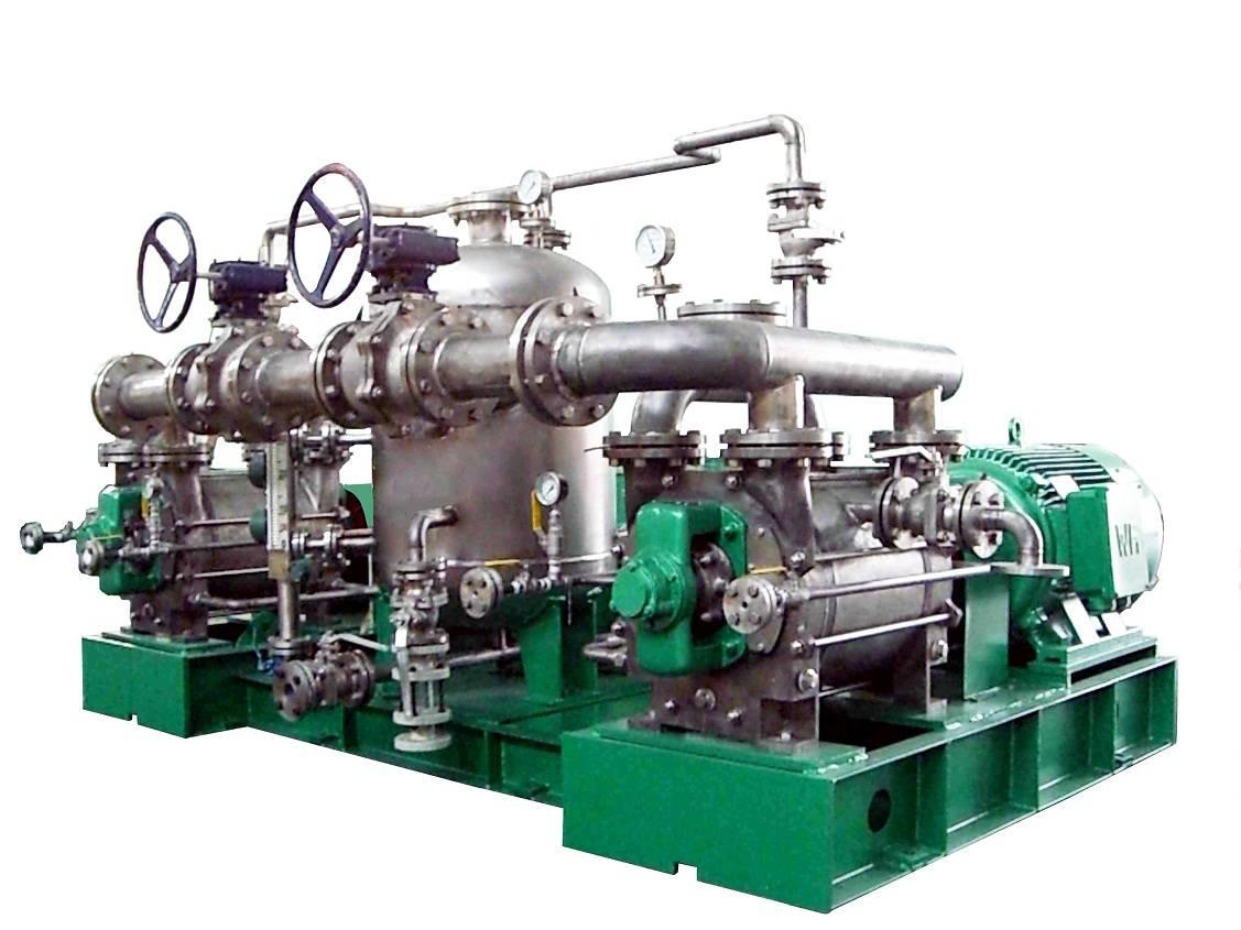 Dechorinated Titanium Vacuum Pump Unit