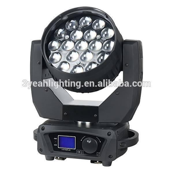 19X12W RGBW Orsam Moving Head Beam Zoom LED Beam Moving Head