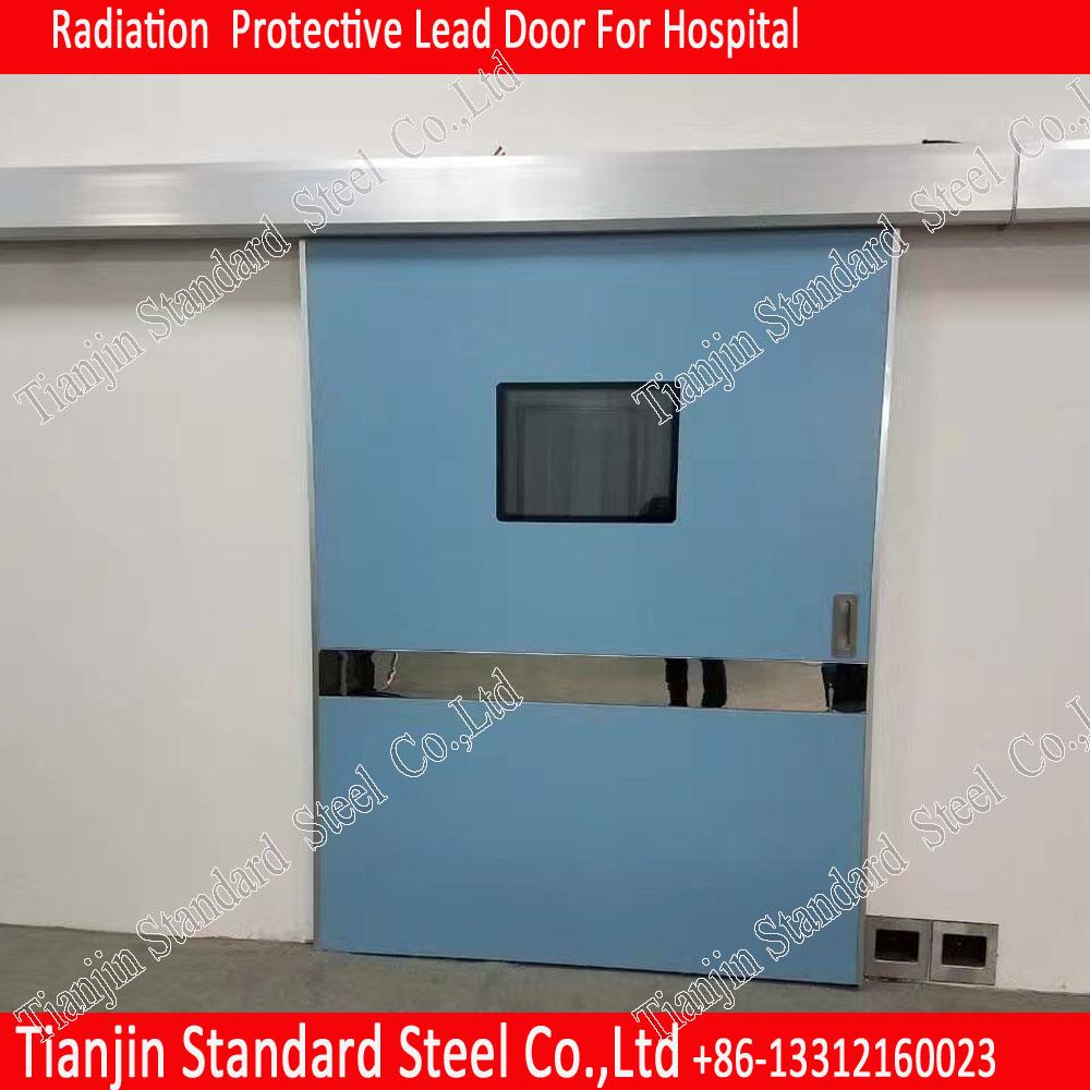 X-ray Radiation Protection 2mmpb Motorized Sliding Lead Door