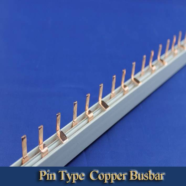 Pin type copper busbar terminal block