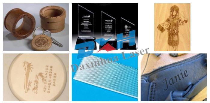 Co2 Laser marking machine for ceramics material