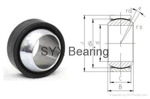 spherical plain bearing GEG90ES