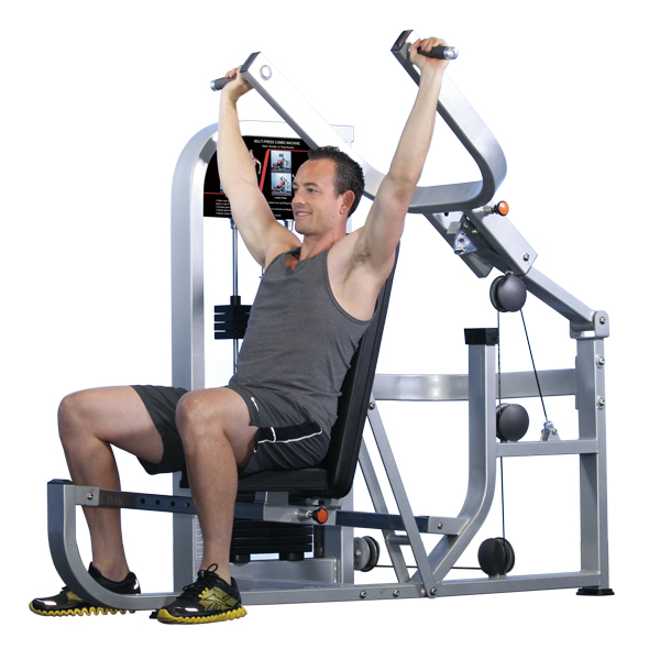 Chest Press/Should Press Body Building Arm Fitness Equipment Multi Gym