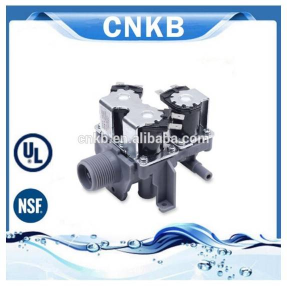 CNKB FCS-135 free sample available 3 way hydraulic plastic110V solenoid inlet valve washing machine