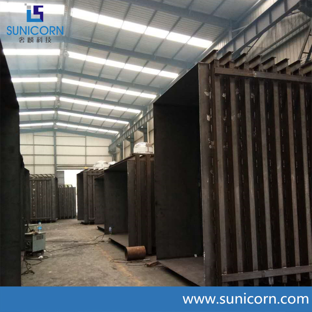 advanced vacuum cooling machine used for leafy vegetable and fruits cooling 1 pallets to 12 pallets
