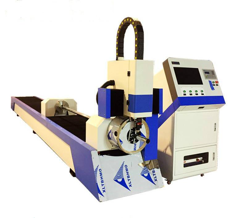 steel tube cnc fiber laser cutting machine affordable for sale