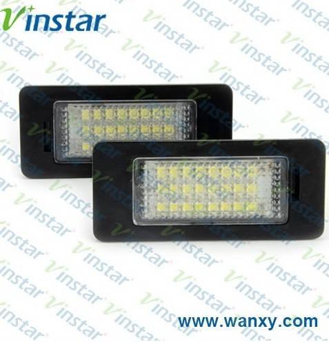 e39 auto license lamp 12v led license plate lights wholesale