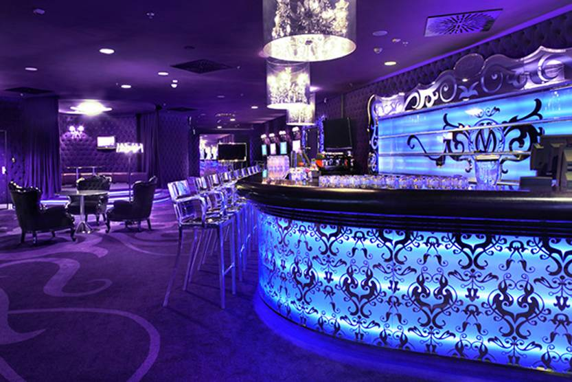 night club bar counter
