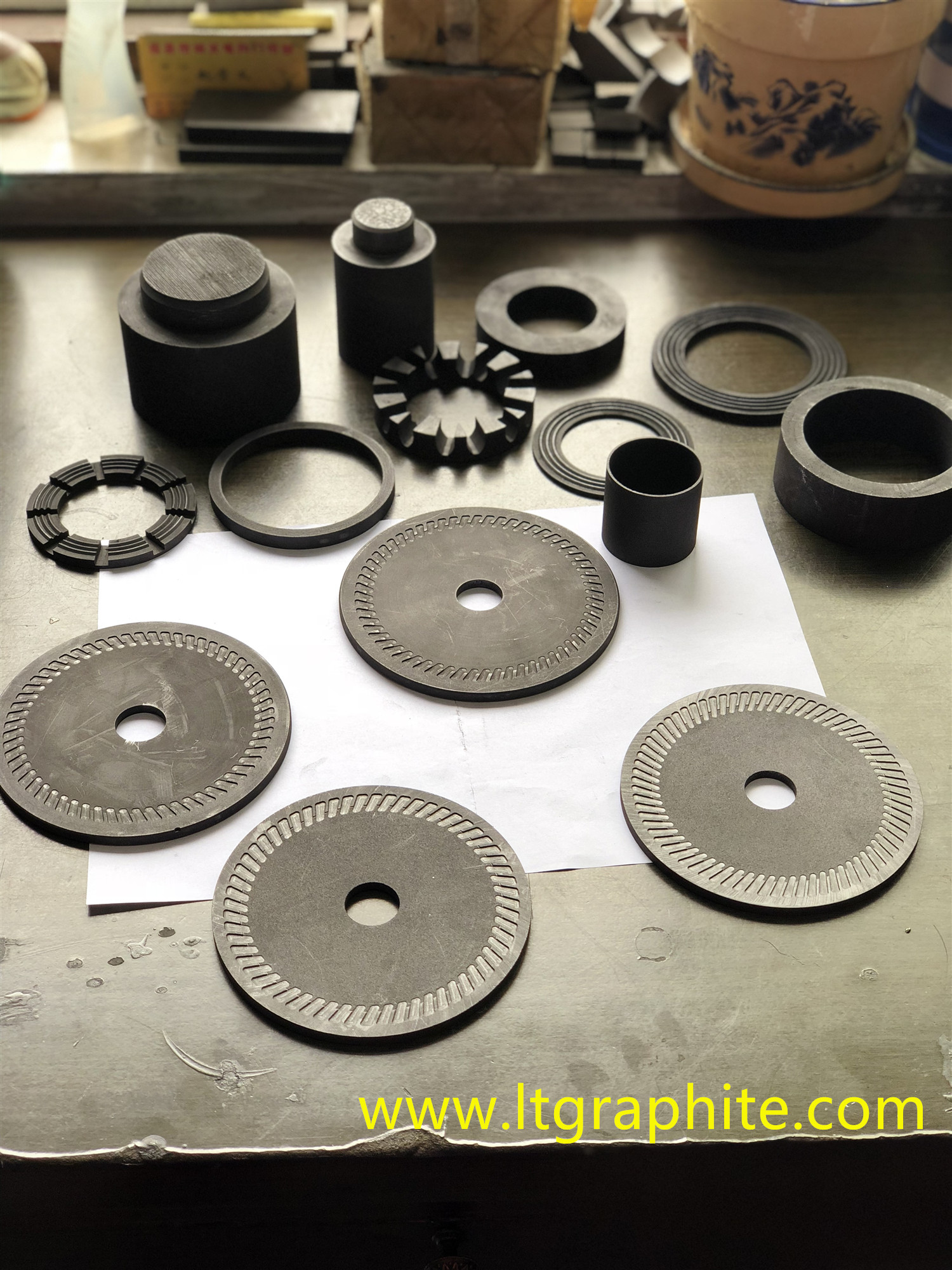 Graphite Geological Drilling Diamond Blade Mould Series