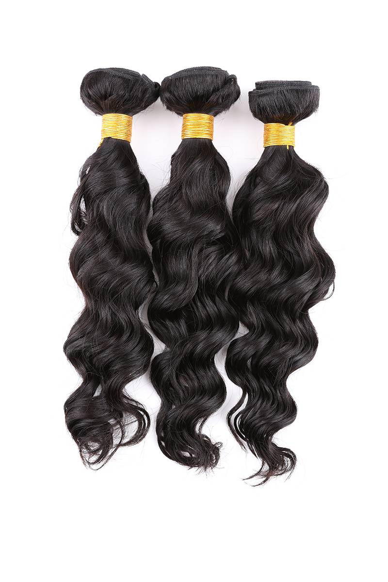 Natural weave virgin hair brazilian natural weave remy human virgin hair extension