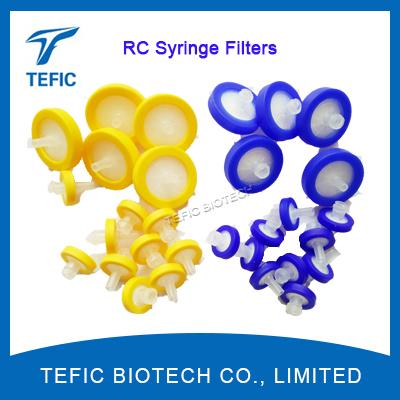 13mm PVDF membrane 0.45 micron syringe filter, wholesale laboratory 0.22 micron syringe filter