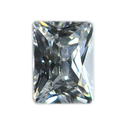 7*9mm Latest Fashion Show Jewelry Rectangle Mystic CUBIC ZIRCON Semi-precious Stone Gems CZ For Whol