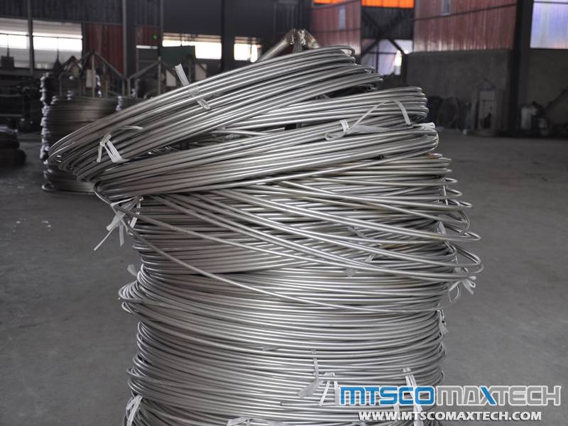 1/2 INCH TP316 SEAMLESS COILED TUBING