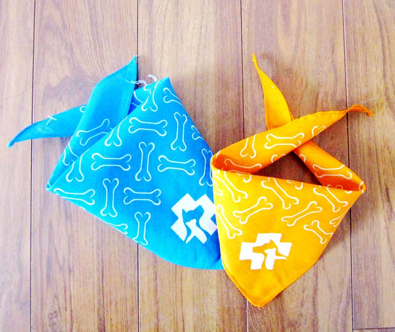 Printing color design pet doo cat collars pet bandanas