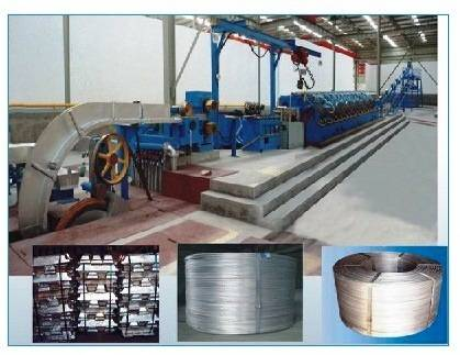 Aluminum&Alloy Rod Continuous Casting and Rolling Line for Electric Wire and Cable