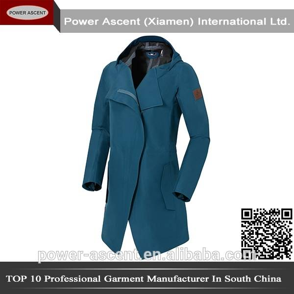 2015 Ladies Elgant Long Thick Outdoor Waterproof Winter Jacket