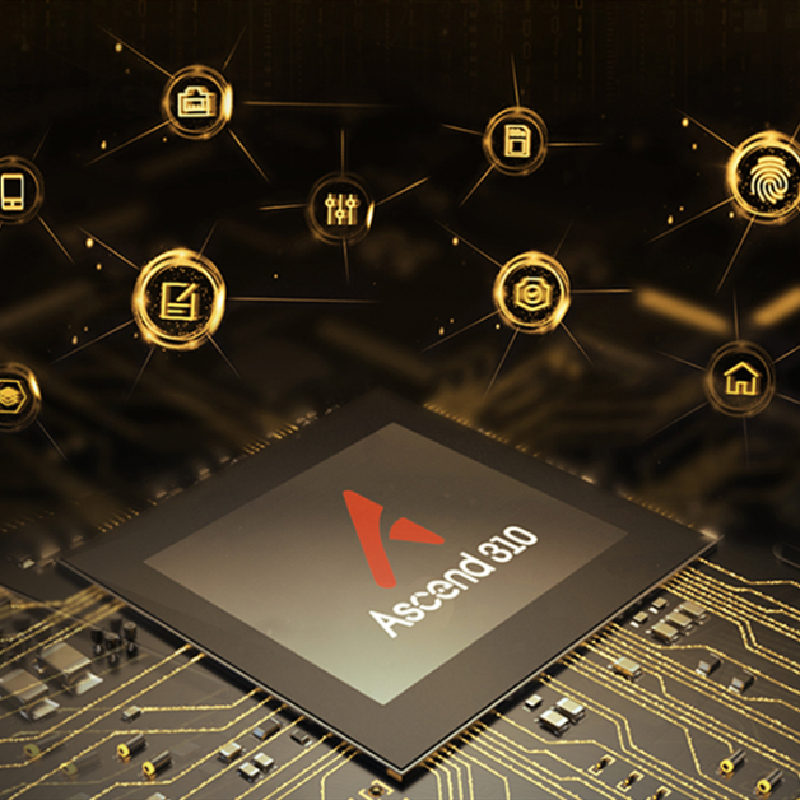 Made in China Asecend 310 AI Processor Energy efficiency and high integration for e Huawei Hisilicon