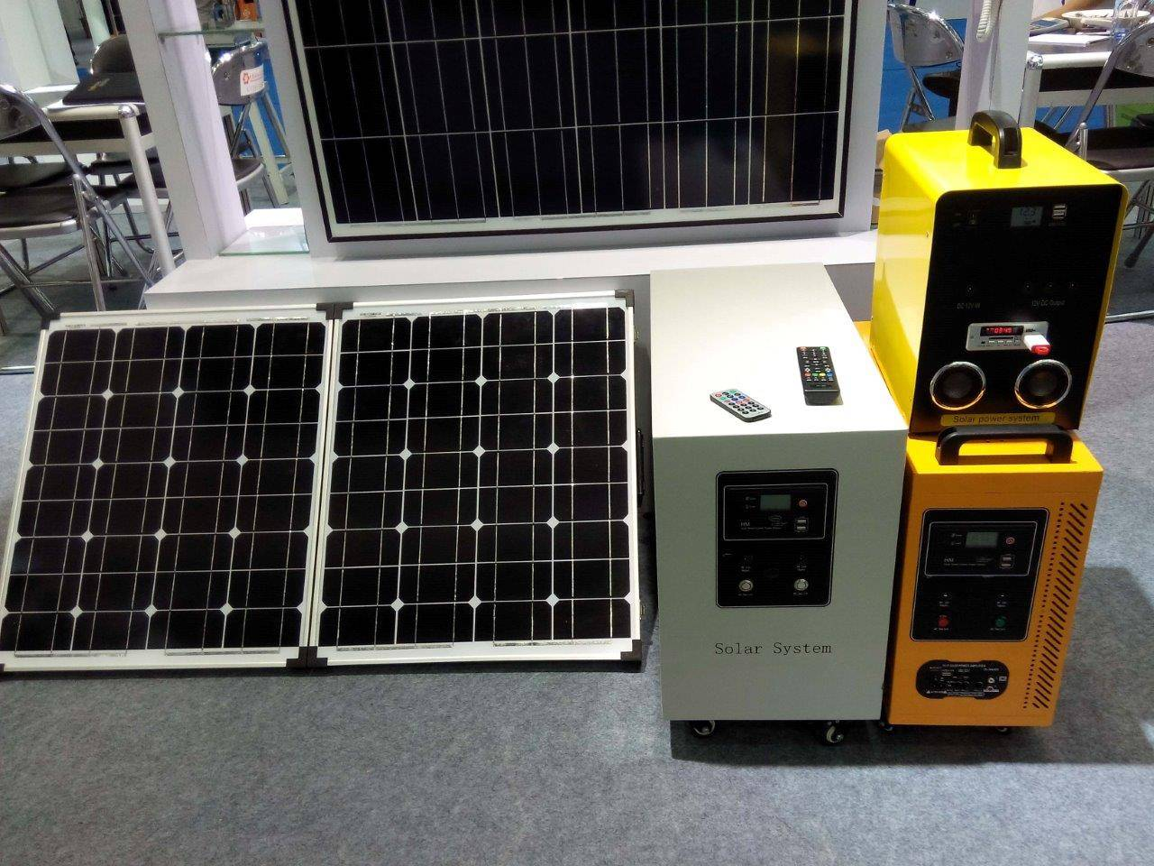 Smart Solar Power Bank Kits 500W 220V