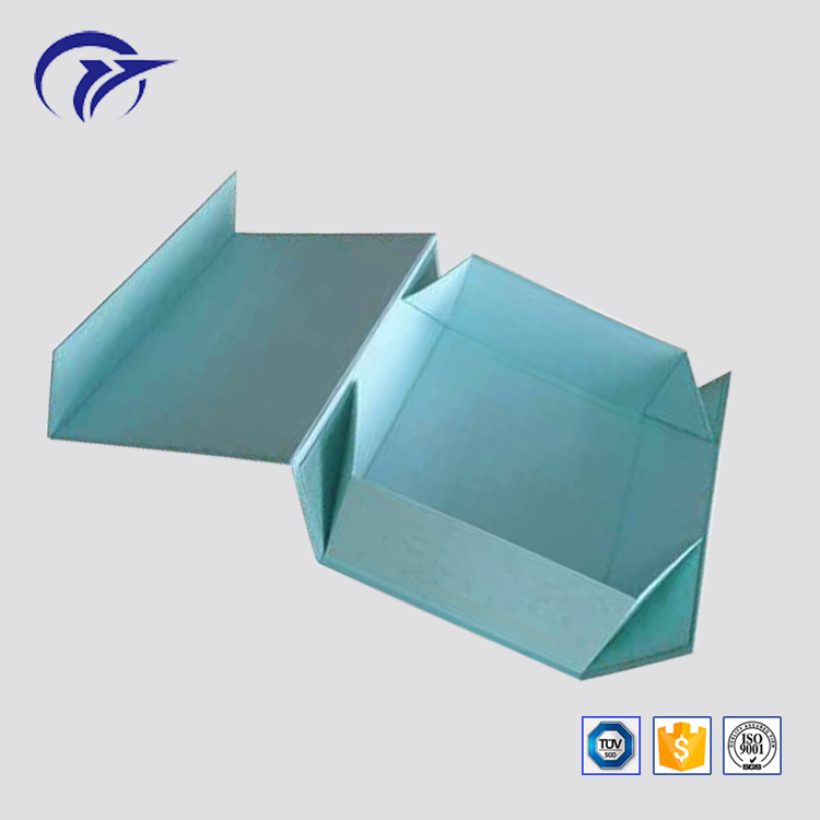 Customized printing flat pack magnetic closure foldable unfoldable paper cardboard gift box