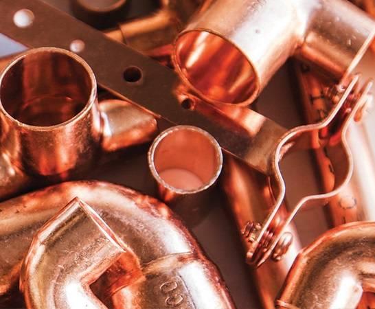 Copper Fitiing (Spec: ASTM, AS, JIS, KSD)
