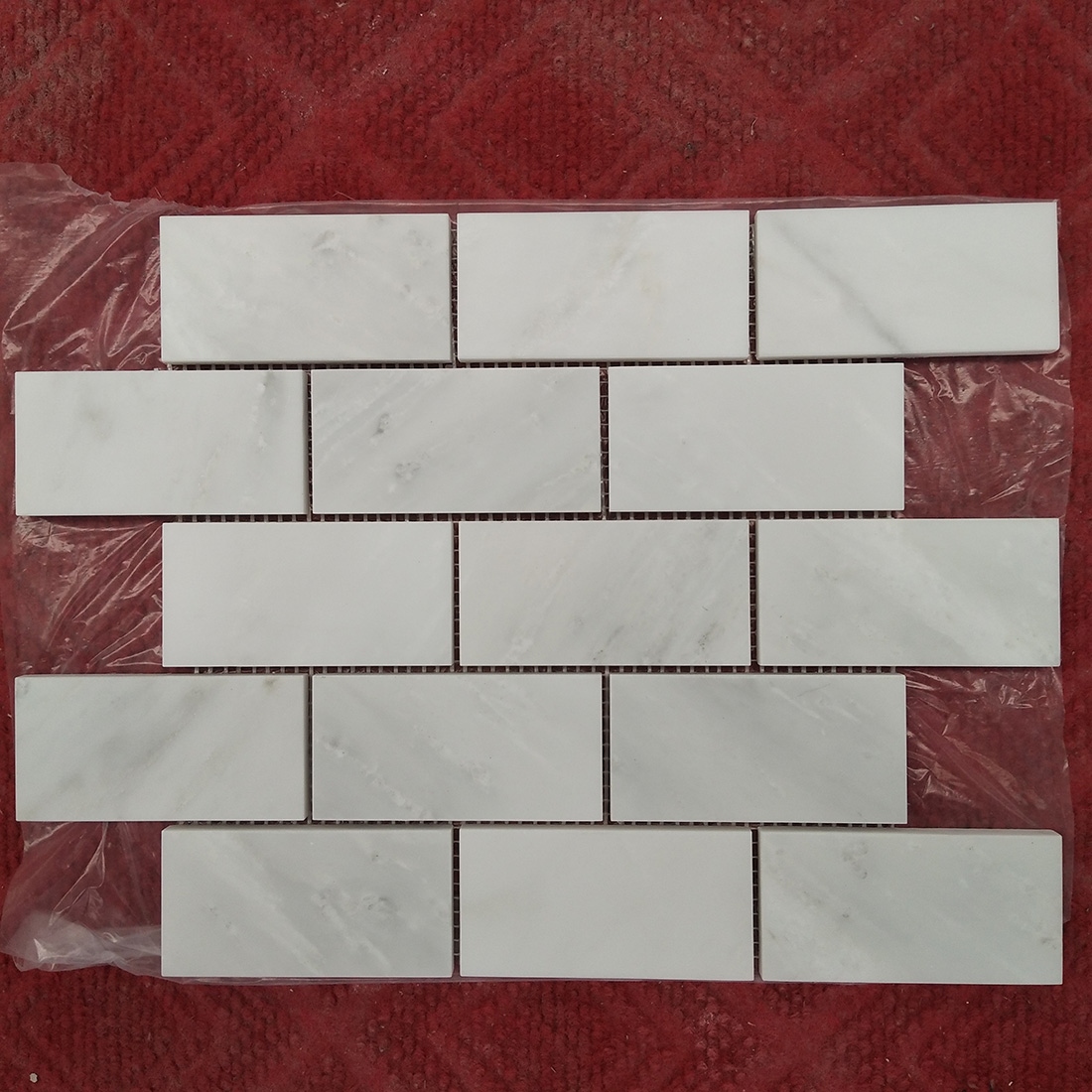 natural marble mosaics tiles white marble
