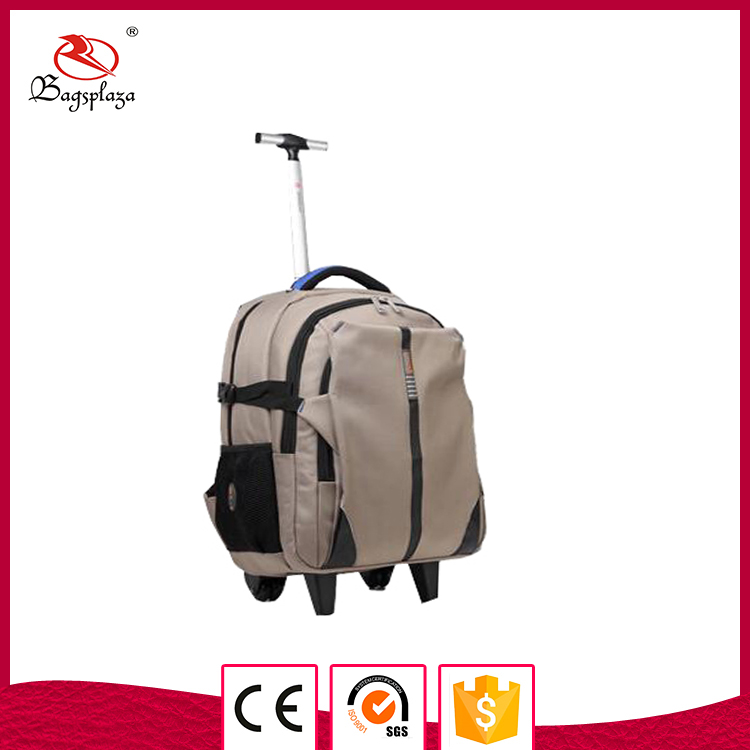 New design 600D mens luggague backpack