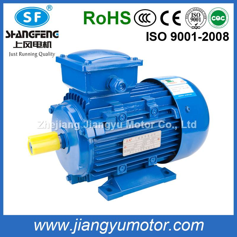 IE2 electric three phase AC motor