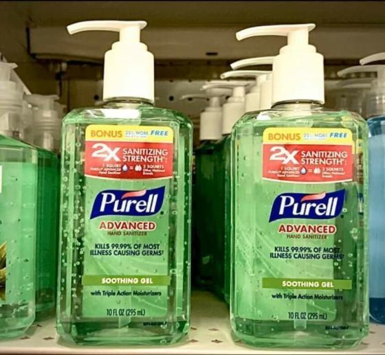 Purell Instant Hand Sanitizer Gel