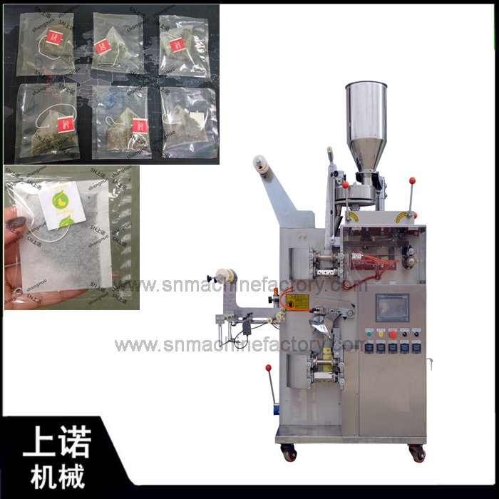 SN-180C Full automatic antique drip coffee/tea bag packing machine with inner and outer bag
