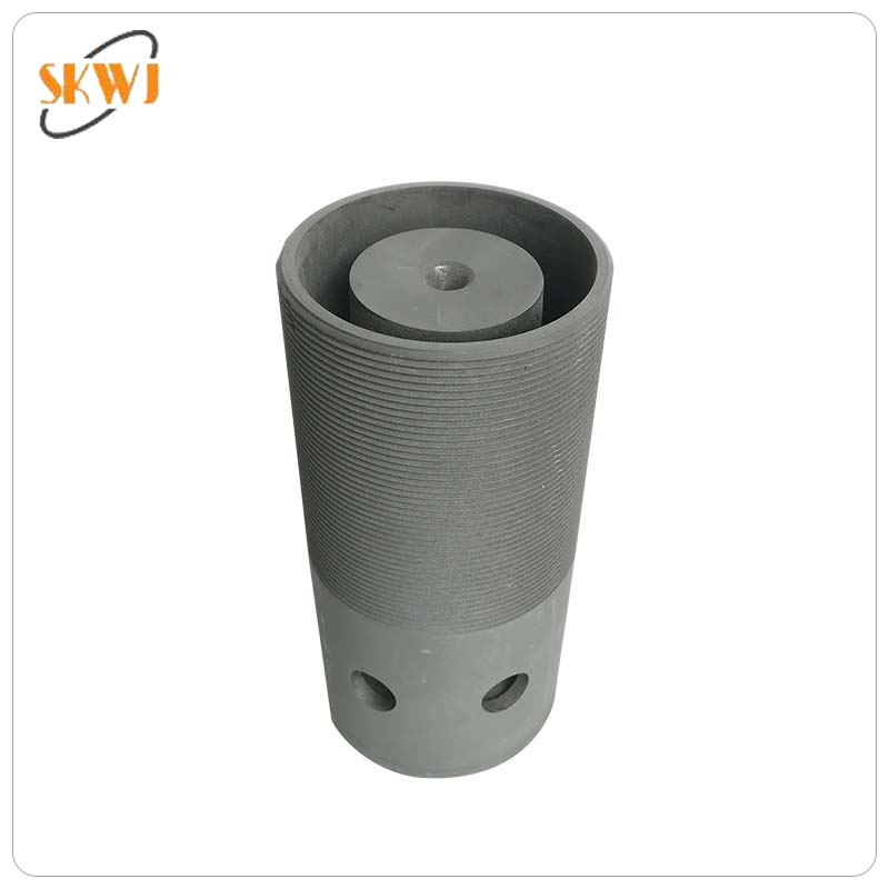 High quality graphite die for continuous casting