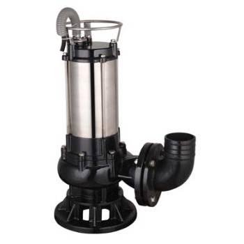 Submersible sewage pump chopper pump
