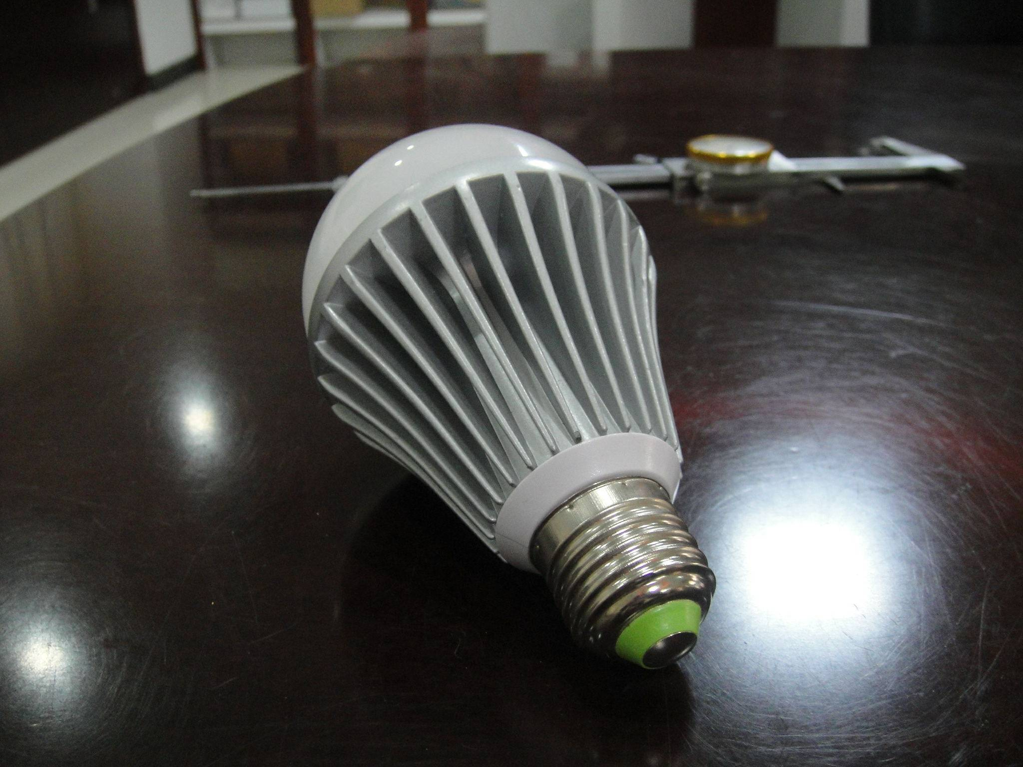 9w die-casting aluminum LED Bulbs no dimming E27 Epistar chips