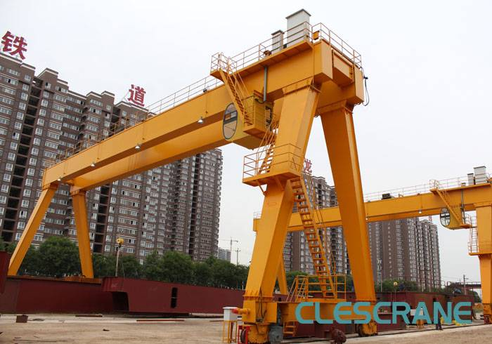 CHG Series Safe Driving Electric Hoist Port Double Girder Gantry Crane Price With Hoist