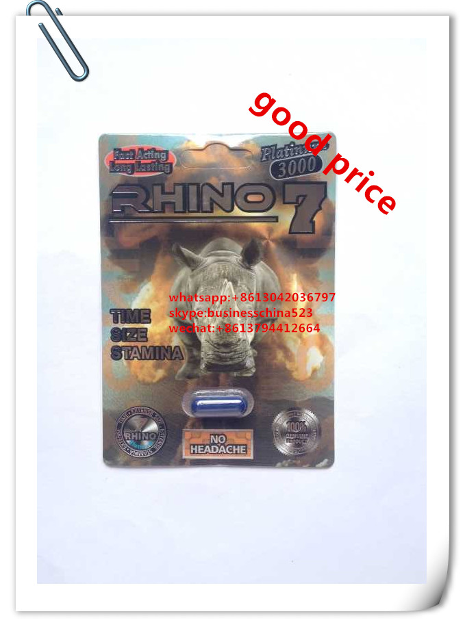 herbal rhino 7 sexual capsules for men enhancement
