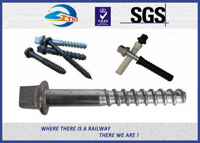 ZhongYue Durable Sleeper Screws UIC864-1 SS Series Crews For Railway Sleepers