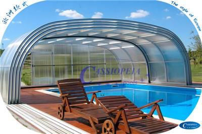 retractable swimming pool cover