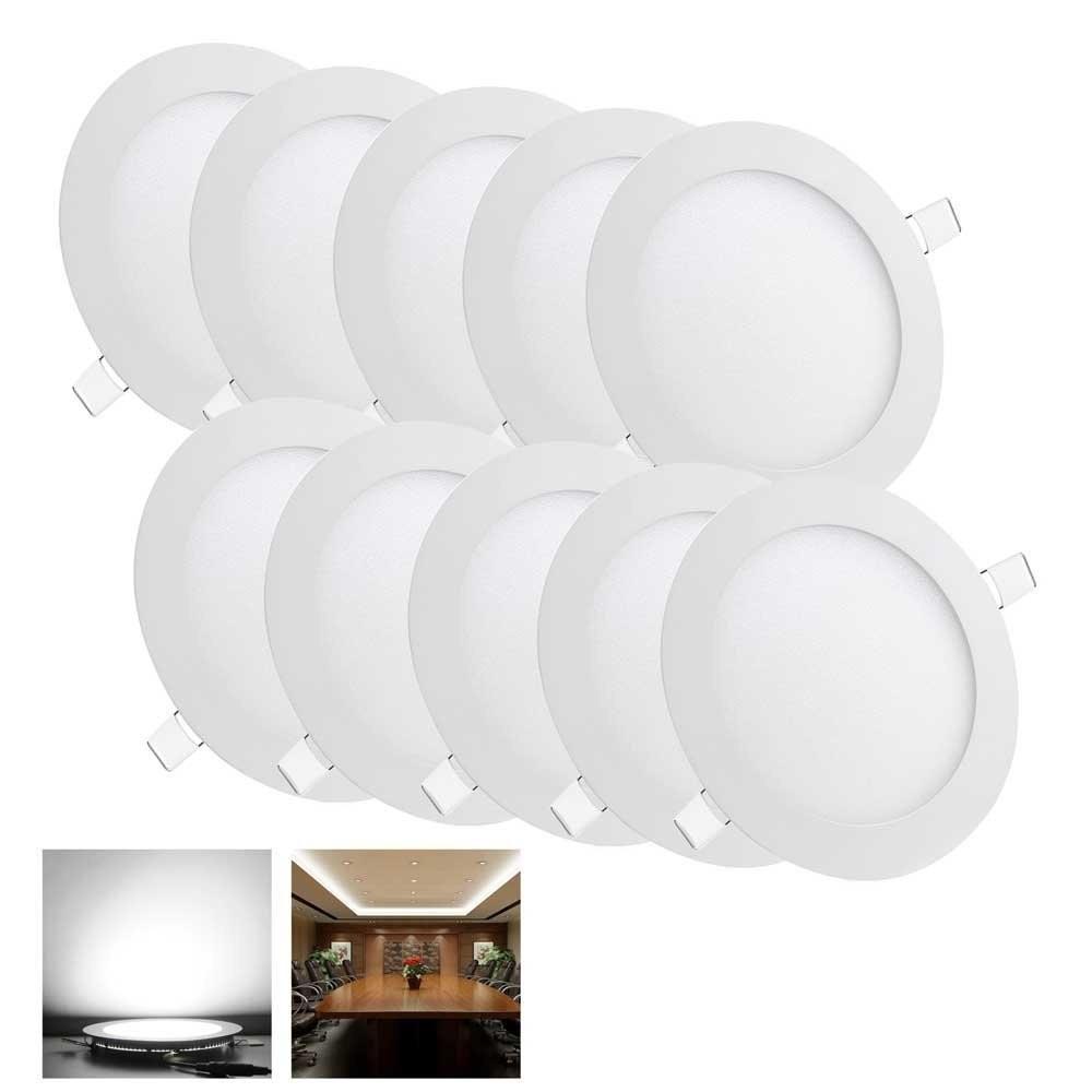 led panel light round lampada high brightness led ceiling lamp SMD 2835 white /warm white indoor led