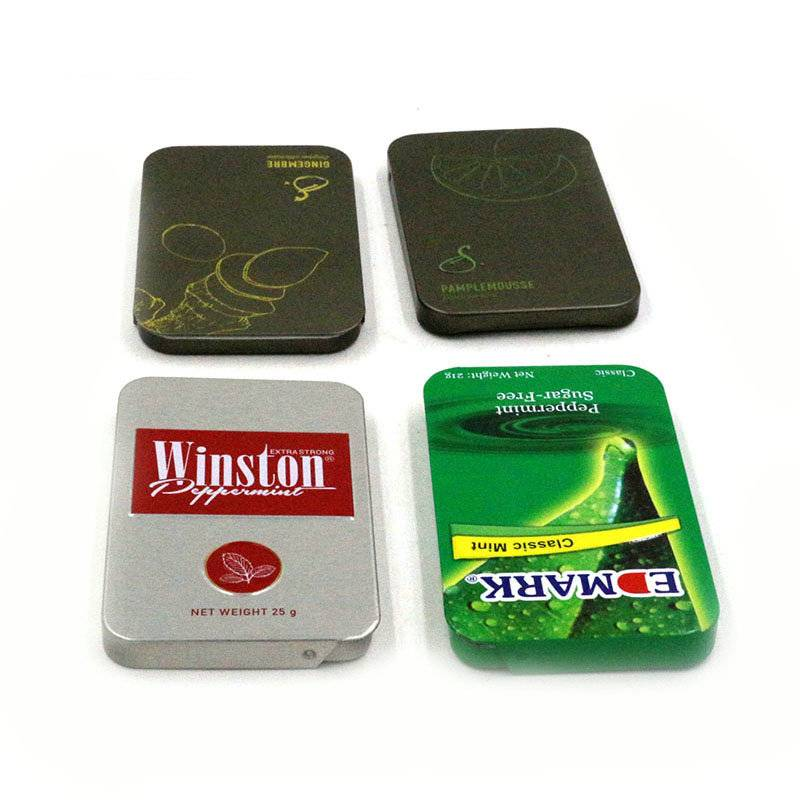 Factory price slide tin box for mint