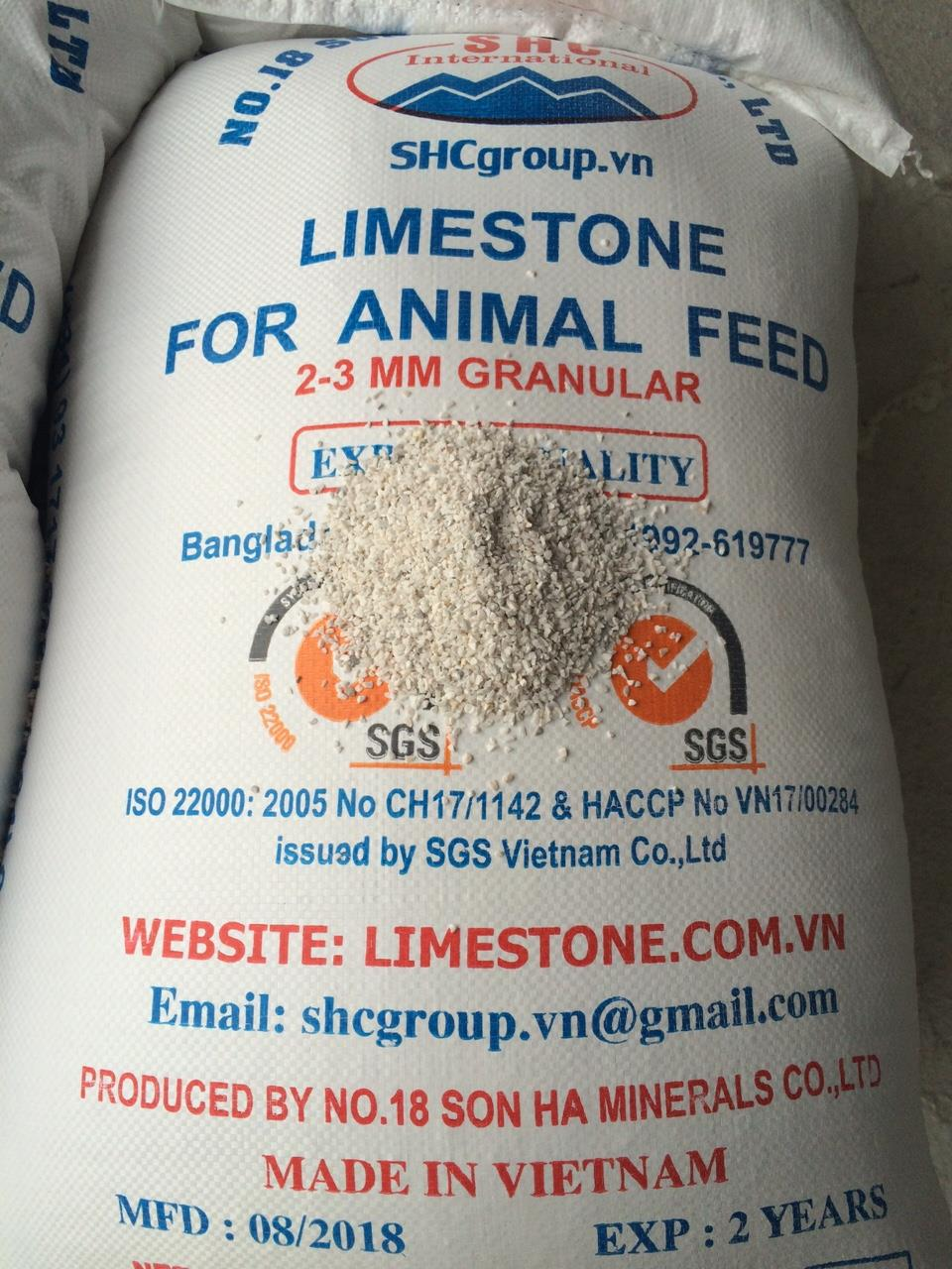 limestone 2-3mm for chicken feed