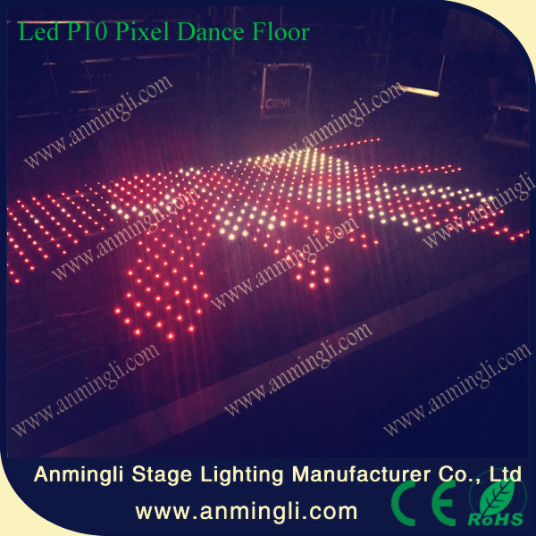 2017 guangzhou led lighting Led Video Dance Floor for party
